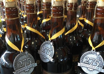 275 Anniversary Beer Bottles