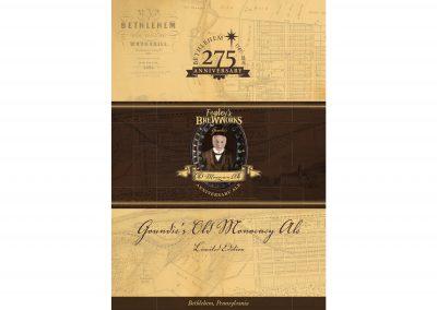 275 Anniversary Beer Box