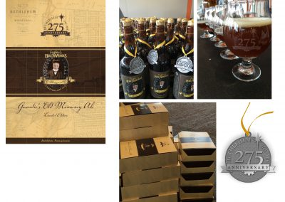 275 Anniversary Beer Box Elements