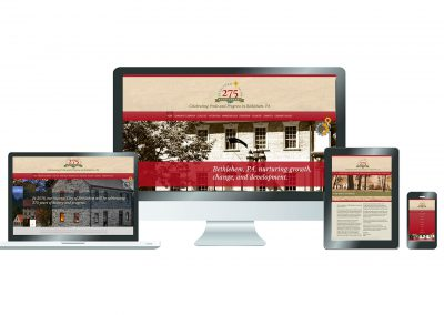 275th Anniversay Website