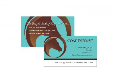 Coat Defense Business Card