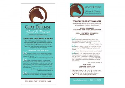 Coat Defense Rack Card
