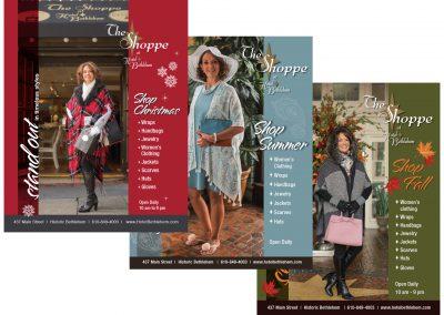 Hotel Bethlehem Shoppe Ads