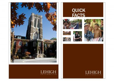 Lehigh International Affairs Brochures
