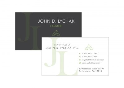 Lychak Law Business Card