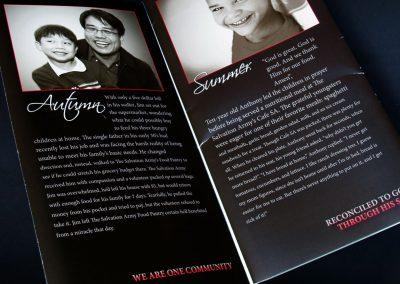 Salvation Army Brochure Spread