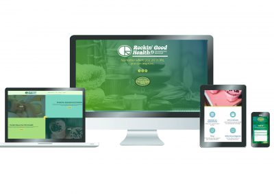 Rockin Good Health Website