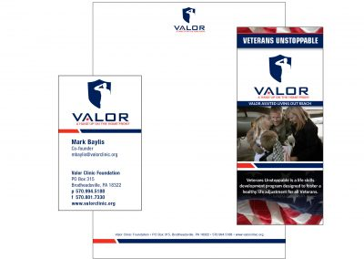 Valor Print Collateral