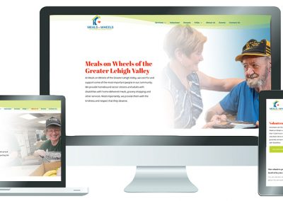 Meals on Wheels Website Design